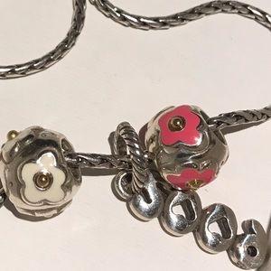 Brighton charm necklace.